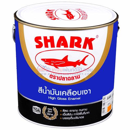 สีน้ำมันฉลาม Shark Enamel สีเคลือบเงา ตราปลาฉลาม