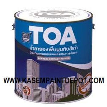 รองพื้นปูนเก่า ทีโอเอ คอนแท็คไพรเมอร์ TOA Contact Primer E1100 แกลลอน