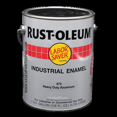 สีน้ำมัน รัสท์โอเลี่ยม 473 สีอลูมิเนียม เอชดี Rust Oleum 473 Aluminium HD แกลลอน