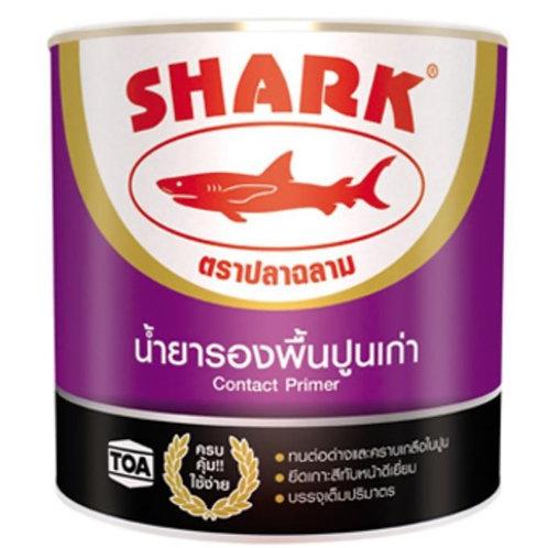 รองพื้นปูนเก่า ฉลาม Shark Old Concrete Primer ตราปลาฉลาม