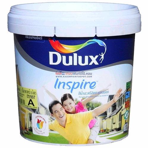 ICI Dulux Inspire Exterior SG สีน้ำดูลักซ์อินสไปร์ ภายนอก กึ่งเงา