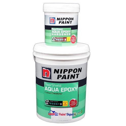 สีอีพ๊อกซี่สูตรน้ำ นิปปอนอะควออีพ๊อกซี่ Nippon Aqua Epoxy ขนาด 5 ลิตร