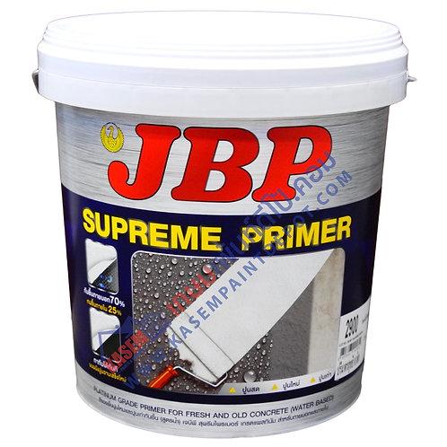 สีรองพื้นปูน JBP Supreme Primer เจบีพี สุพรีมไพรเมอร์ ขนาดถัง 9 ลิตร