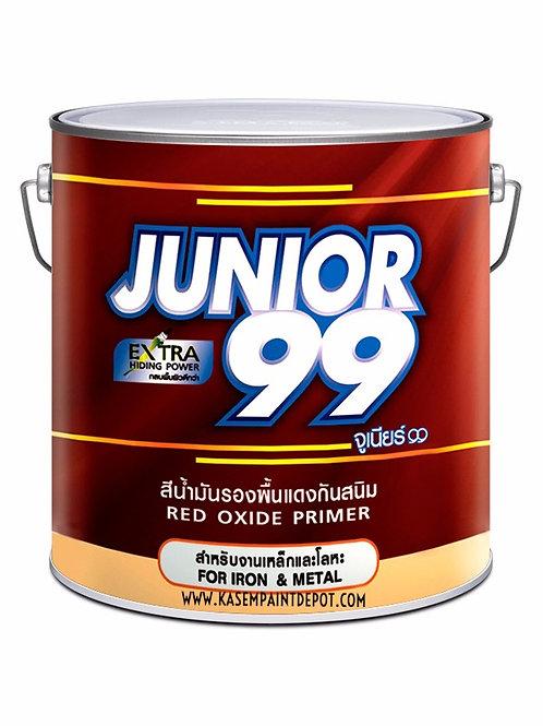 รองพื้นกันสนิมแดง นิปปอน จูเนียร์ 99 Nippon Junior 99 Red Primer ถังใหญ่