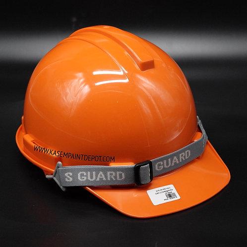หมวกเซฟตี้ S-Guard มี มอก. สีส้ม Orange Safety Helmet