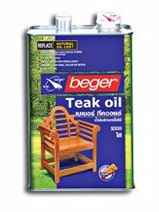 น้ำยารักษาเนื้อไม้เบเยอร์ทีคออยล์ Beger Teak Oil ขนาดแกลลอน