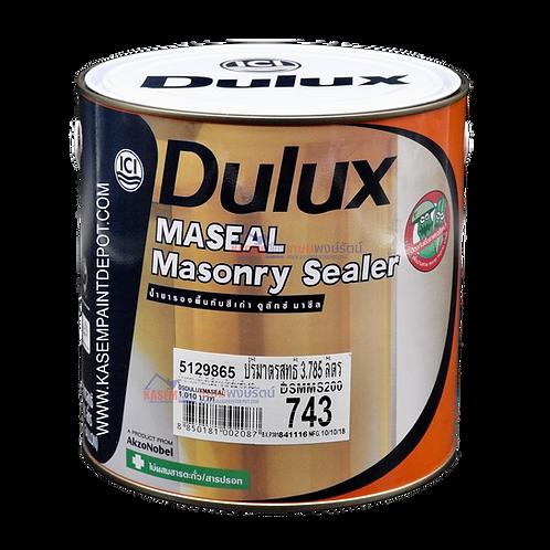 รองพื้นปูนเก่าสูตรน้ำมัน ไอซีไอ มาซีล 743 ICI Dulux Maseal Masonry Primer แกลลอน