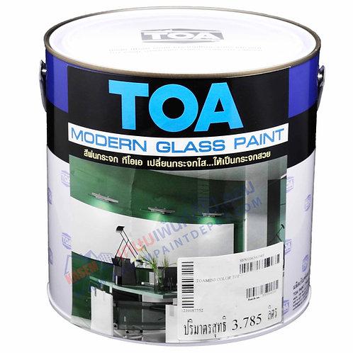 สีพ่นกระจกทีโอเอ โมเดิร์นกลาส โทนสีเมทัลลิค TOA Modern Glass Metallic