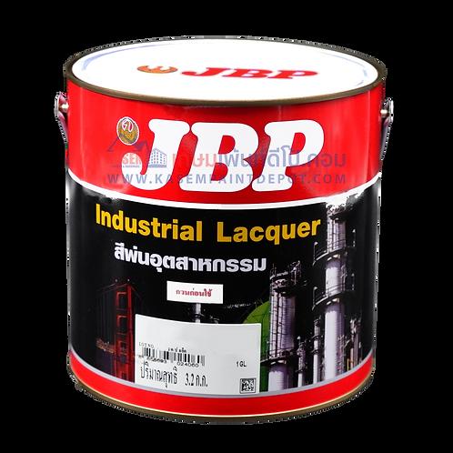 สีพ่นอุตสาหกรรม เจบีพี ขาวเงา No.404 JBP Industrial Lacquer ขนาดแกลลอน