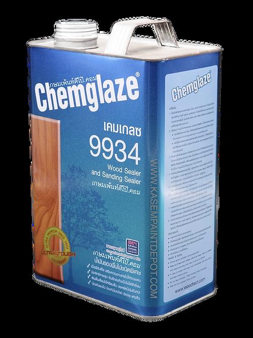 Chemglaze 9934 รองพื้นอุดเสี้ยนไม้ เคมเกลซ ขนาดแกลลอน 3.785 ลิตร