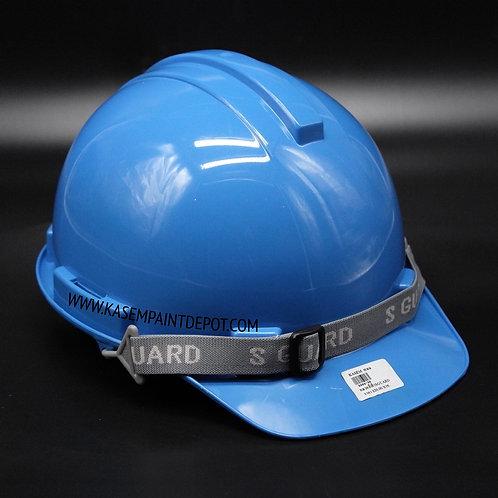 หมวกเซฟตี้ S-Guard มี มอก. สีฟ้า Blue Safety Helmet