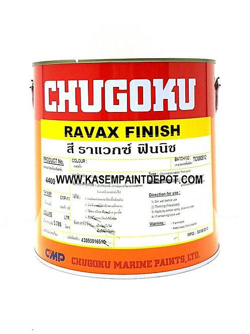สีทับหน้า CR ชูโกกุ ราแว็กซ์ ฟินิช  Chugoku Ravax Finish ขนาดแกลลอน