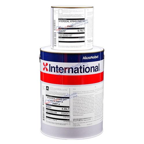 International Interseal 670HS  White รองพื้นอีพีอกซี่ อินเตอร์เนชั่นแนล สีขาว
