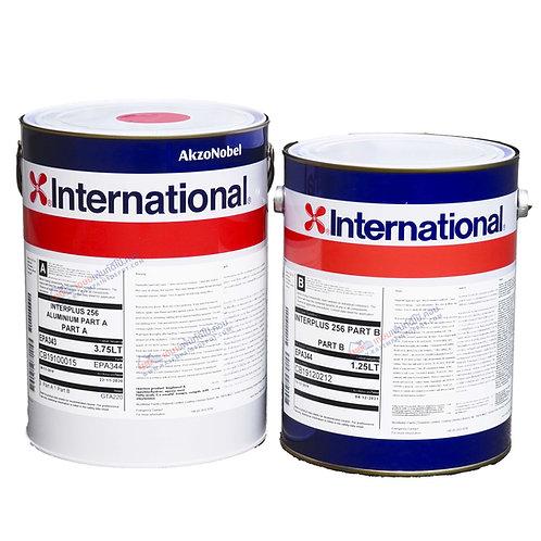 International Interplus 256 สีอินเตอร์เนชั่นแนล อินเตอร์พลัส สีอลูมิเนียม  5ลิตร