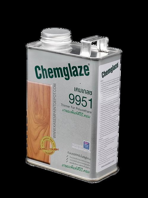 ทินเนอร์เคมเกลซ ผสมโพลียูริเทน 9951 Chemglaze PU Thinner กระป๋อง 700 กรัม