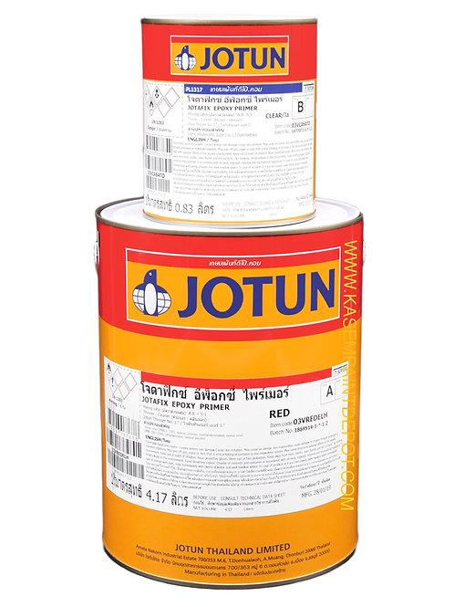 รองพื้นอีพ๊อกซี่โจตัน โจตาฟิกซ์ไพรเมอร์ สีแดง Jotun Jotafix EP Primer กล. 5 ลิตร