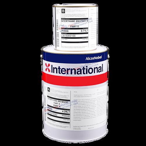 สีอินเตอร์เนชั่นแนล อินเตอร์เทน 990 International Interthane 990 เฉดแม่สี แกลลอน