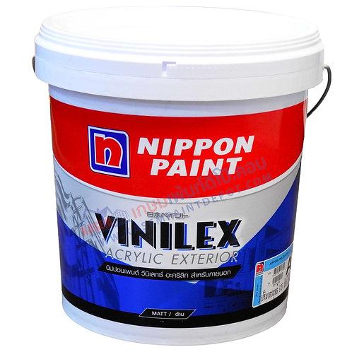 สีนิปปอนวินิเล็กซ์ อะคริลิค ภายนอก ด้าน Nippon Vinilex Acrylic Base A ถังเล็ก