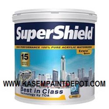 สีน้ำภายนอก ชนิดเนียน ทีโอเอ ซุปเปอร์ชิลด์ Base A TOA Supershield Sheen แกลลอน