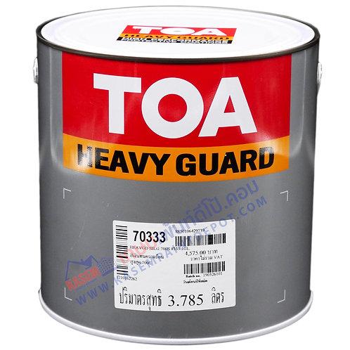 สีทนความร้อน ทีโอเอ สีเงิน TOA Silguard 700 #333 ซิลการ์ด ทนร้อน 700 องศา