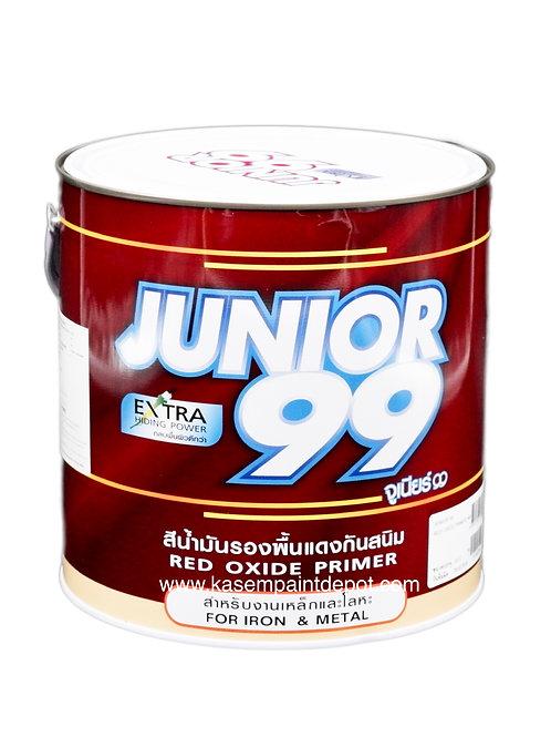 รองพื้นกันสนิมแดง นิปปอน จูเนียร์ 99 Nippon Junior 99 Red Primer แกลลอน