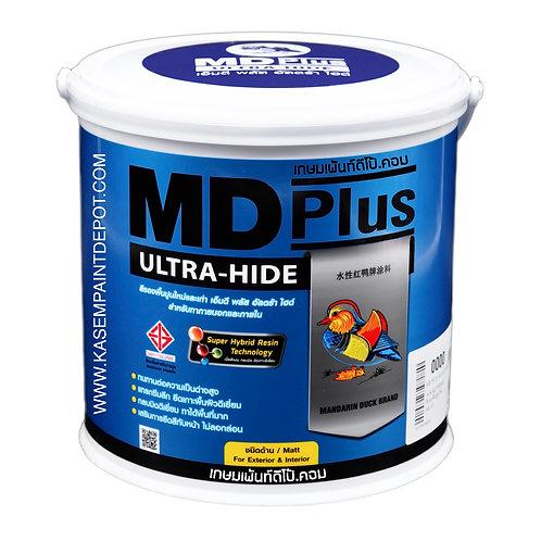 รองพื้นปูนใหม่และเก่าสูตรน้ำ ทีโอเอเป็ดหงส์อัลตร้าไฮด์ TOA MD Plus  Ultra hide