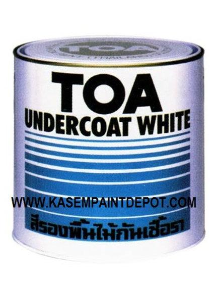 รองพื้นไม้กันเชื้อราทีโอเอ TOA Undercoat White G1600 ถังใหญ่