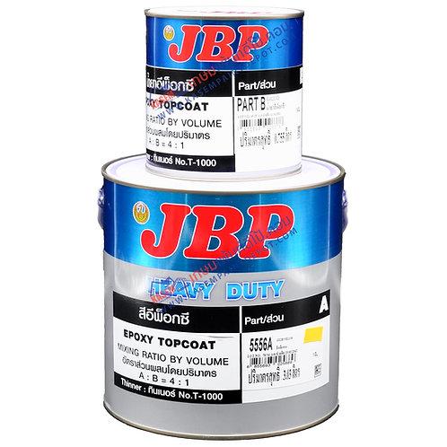 สีอีพ๊อกซี่ เจบีพี JBP Epoxy Top Coat สำหรับงานภายใน ขนาดแกลลอน