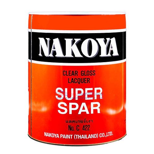 แลคเกอร์เงานาโกย่า C422 Nakoya Super spar Clear Gloss Lacquer ถังใหญ่