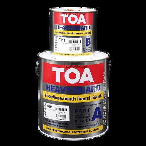 สีโคลทาร์อีพ๊อกซี่ ทีโอเอ 111 TOA Coal Tar Epoxy 111 สีดำ