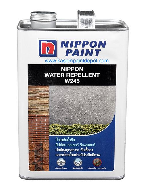 น้ำยาเคลือบกันซึม นิปปอน วอเตอร์รีเพลเลนท์ Nippon Water Repellent W245 ขนาดแกลอน