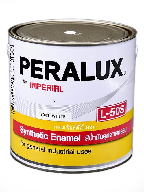สีน้ำมันพีราลักส์ PERALUX L50S เฉดสีขาว 5001 ขนาดแกลลอน 3.785 ลิตร