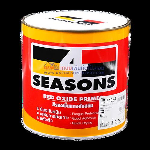 สีทีโอเอ โฟร์ซีซั่น รองพื้นกันสนิมแดง F1024 4Seasons Red Oxide Primer