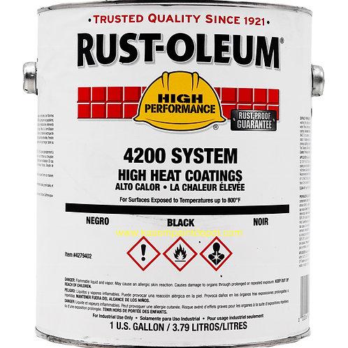 สีทนความร้อนรัสท์โอเลี่ยม สีเทาด้าน 4286 Rust-Oleum 4286 ขนาด 3.79 ลิตร
