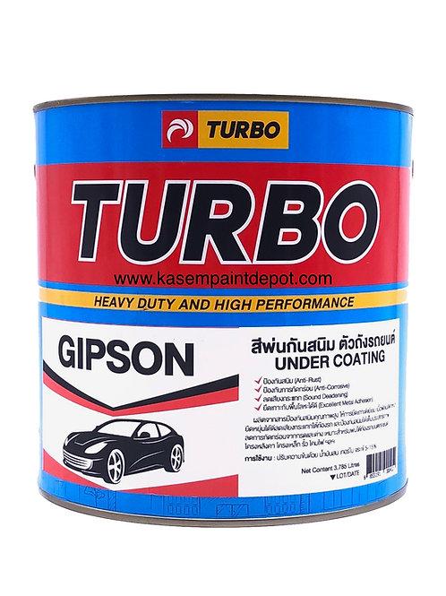 บอดี้ชู้ทดำ Turbo Gibson พ่นกันสนิมใต้ท้องรถ ขนาดแกลลอน 3.785 ลิตร