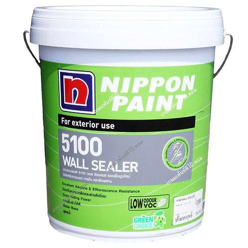 รองพื้นปูนใหม่ นิปปอน 5100 วอลซีลเลอร์ Nippon 5100 Wall Sealer ถังใหญ่