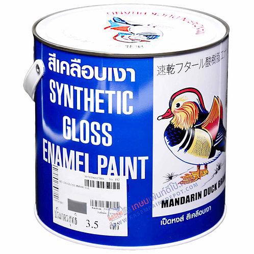 สีน้ำมัน ทีโอเอ ตราเป็ดหงส์ TOA Mandarin Duck Enamel ขนาดแกลลอน