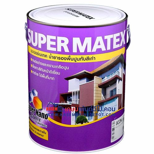 รองพื้นปูนเก่า TOA Supermatex ทีโอเอ ซุปเปอร์เมเทค ขนาดแกลลอน