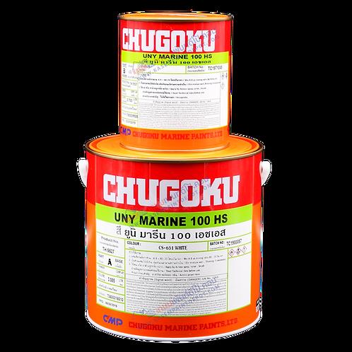 สีชูโกกุ ยูนิมารีน 100HS สีเฉดมาตรฐาน Chugoku Uny Marine 100HS ขนาดแกลลอน