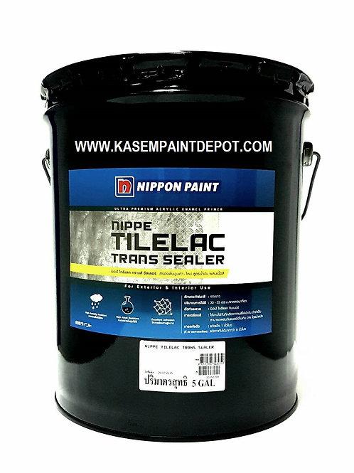 รองพื้นปูนเก่าสูตรน้ำมันผสมผงสี นิปปอน Nippon Tilelac Transealer ขนาดถังใหญ่