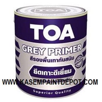 รองพื้นกันสนิมเทา ทีโอเอ TOA Grey Primer G2010 ถัง 18 ลิตร