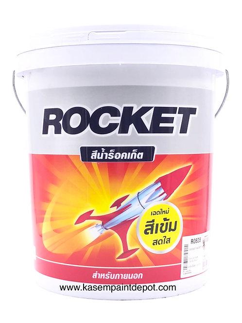 สีน้ำปามมาสติก ร๊อกเก็ต ภายนอก ชนิดด้าน Rocket Exterior Matt สีเบอร์ถังใหญ่