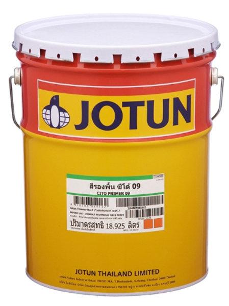 รองพื้นปูนเก่าโจตัน ซิโต้ไพรเมอร์ Jotun Cito Primer 09 ถังใหญ่ 18.925 ลิตร