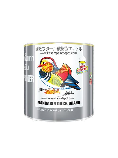 รองพื้นกันสนิมเทา ทีโอเอ เป็ดหงส์ TOA Mandarin Duck Grey Primer ถังใหญ่