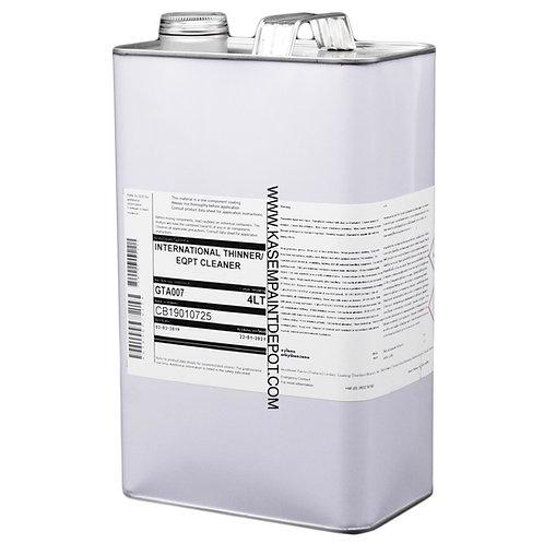 ทินเนอร์ อินเตอร์เนชั่นแนล GTA007 International Paint Thinner แกลลอน 4ลิตร
