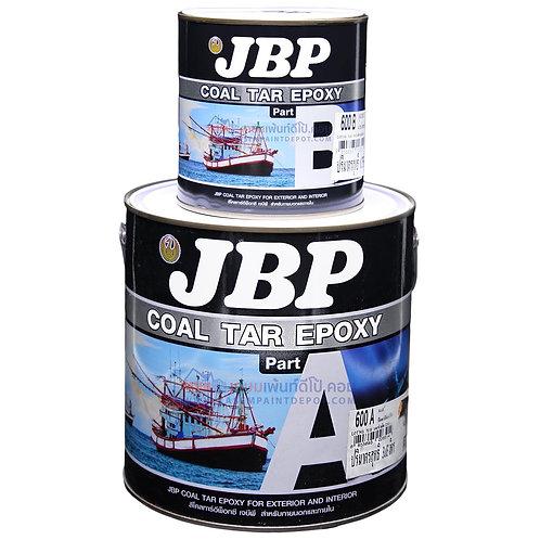 สีโคลทาร์อีพ๊อกซี่ เจบีพี สีดำ JBP Coal Tar 600A