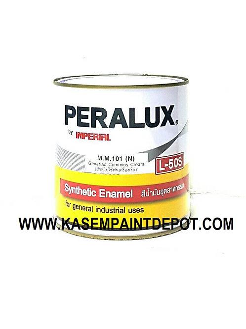 สีน้ำมันพีราลักส์ PERALUX L50S เฉดสีมาตรฐาน ขนาดกระป๋อง 0.946 ลิตร