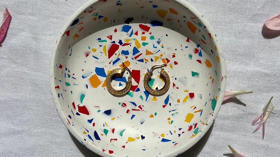 White Terrazzo Ceramic