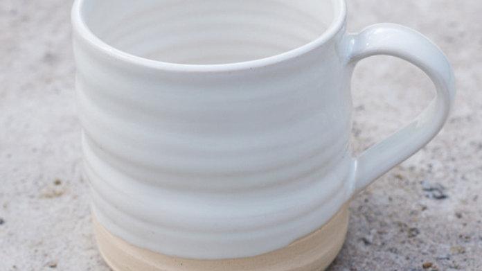 Handmade Snow Mug