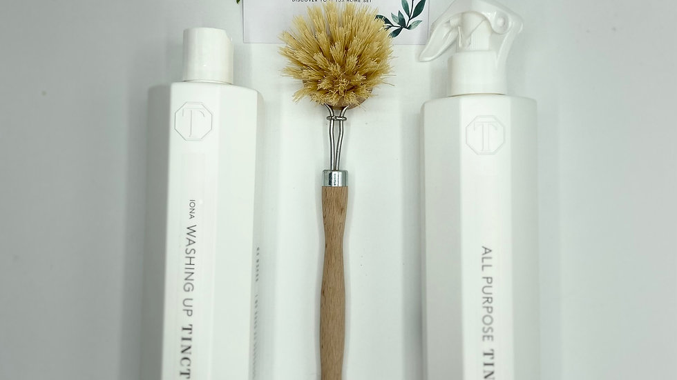 The Sustainable Home Cleaning Set